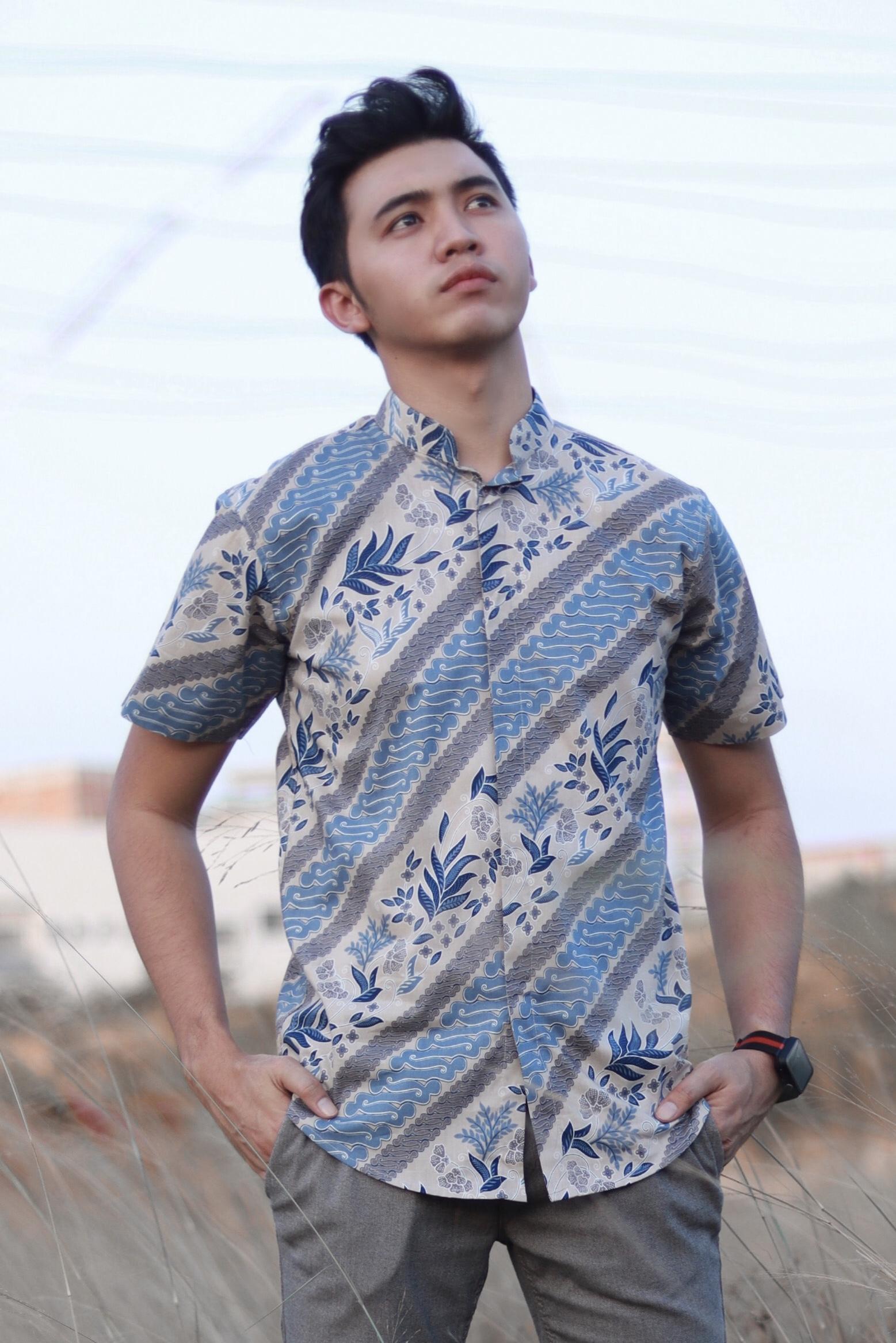 Batik Formal Collar